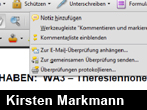 Die Kommentarfunktionen in Acrobat 9