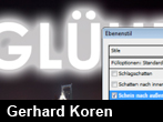 Glühender Text in Photoshop CS4