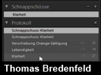 Protokoll und Schnappschsse in Lightroom 2