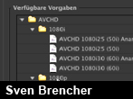 AVCHD-Untersttzung