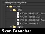 AVCHD-Unterstützung